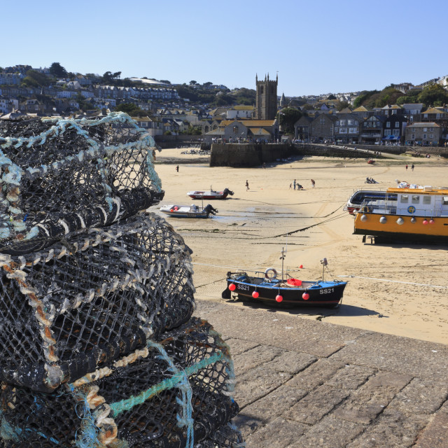 """""""St Ives"""" stock image"""