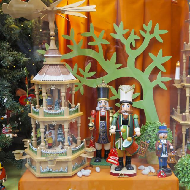 """""""Christmas, shop window"""" stock image"""