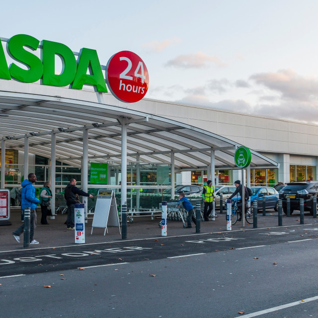 """Asda"" stock image"