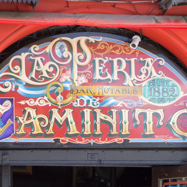 """El Caminito"" stock image"