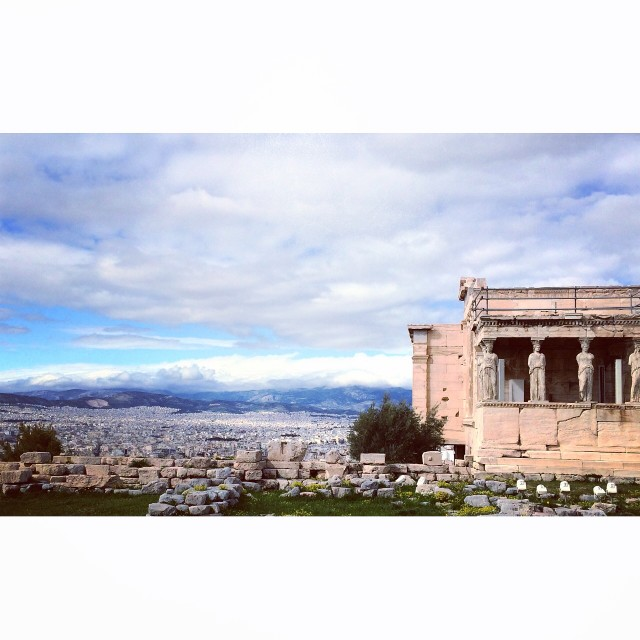 """""""Temple of Athena"""" stock image"""