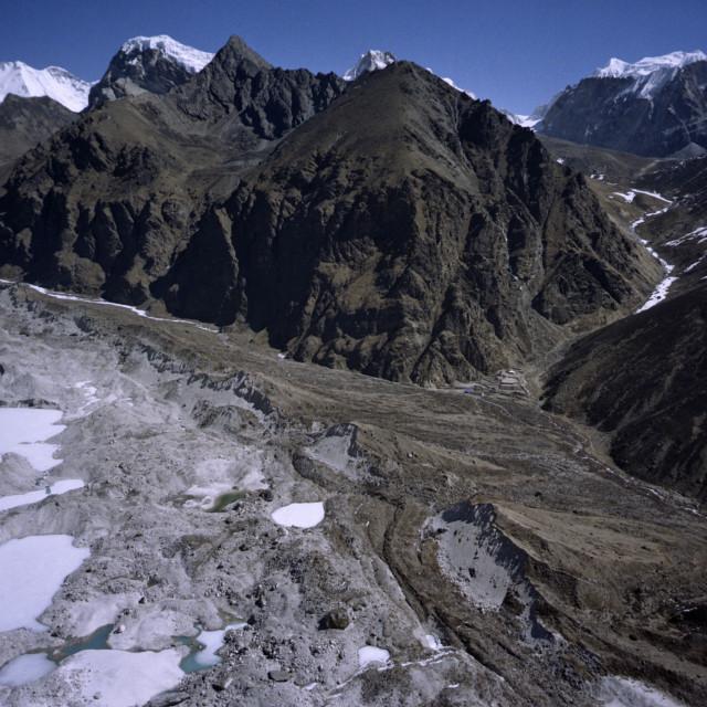 """Ngozumpa Glacier Nepal"" stock image"