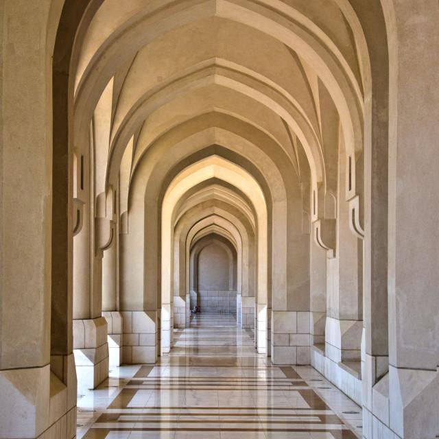 """Corridor"" stock image"