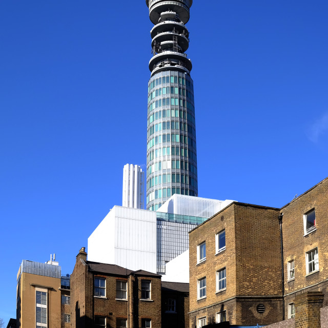 """The BT tower, London"" stock image"