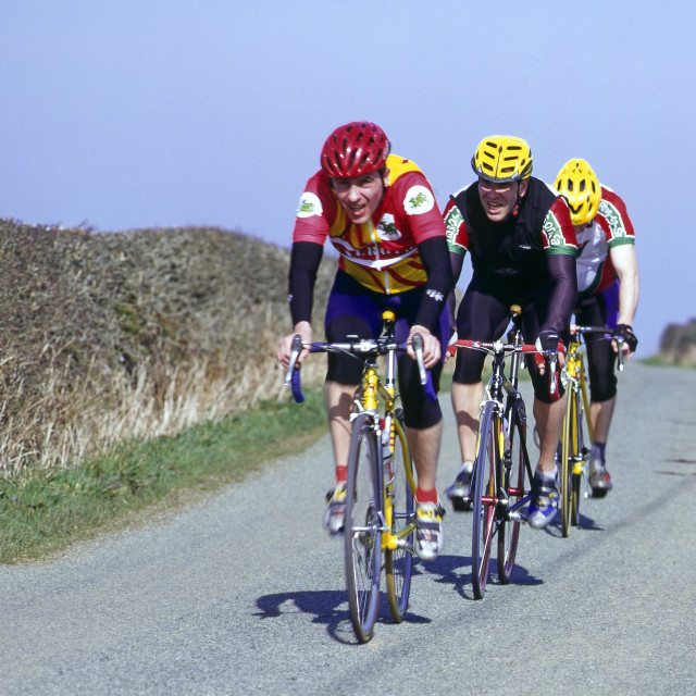 """""""Cycle Road Race"""" stock image"""