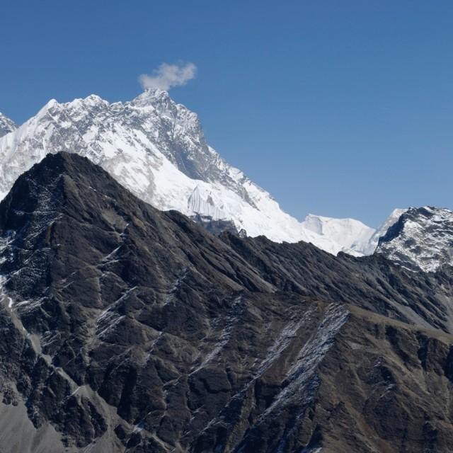"""Everest Panorama"" stock image"