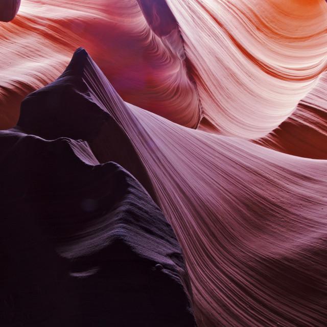 """Lower Antelope Canyon"" stock image"