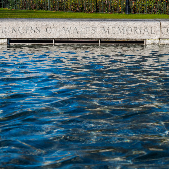 """The Memorial Fountain"" stock image"