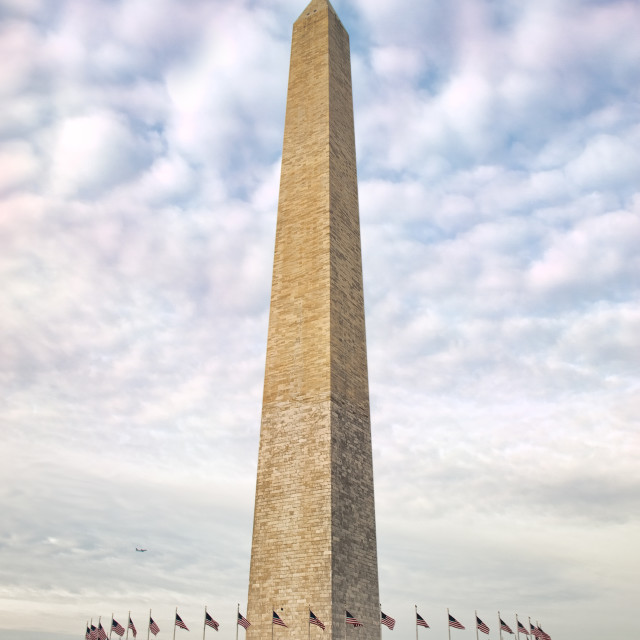 """The Washington Monument"" stock image"