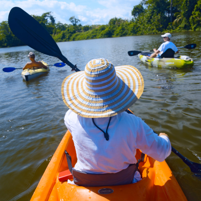 """Kayak trip"" stock image"