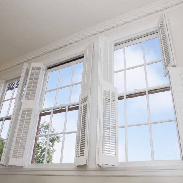 """""""Windows and shutters"""" stock image"""