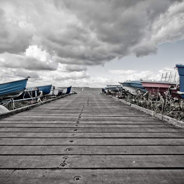 """Slipway"" stock image"