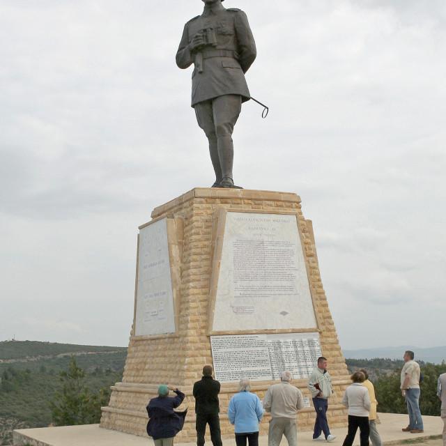 """Kemal Attaturk at Gallipoli"" stock image"