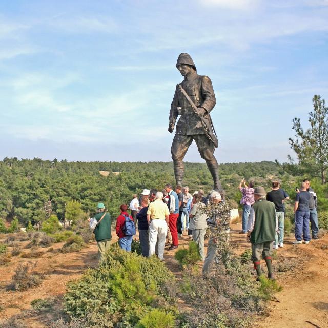 """Turkish Soldier at Gallipoli"" stock image"