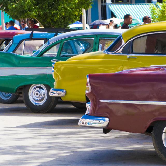 """Cuban cars"" stock image"