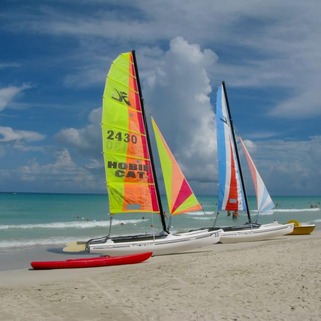 """Varadero Beach"" stock image"