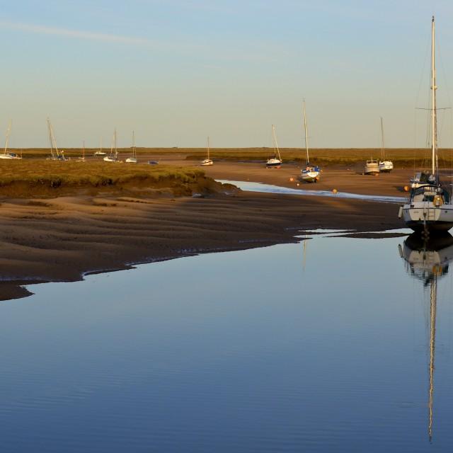 """""""Wells Harbour"""" stock image"""