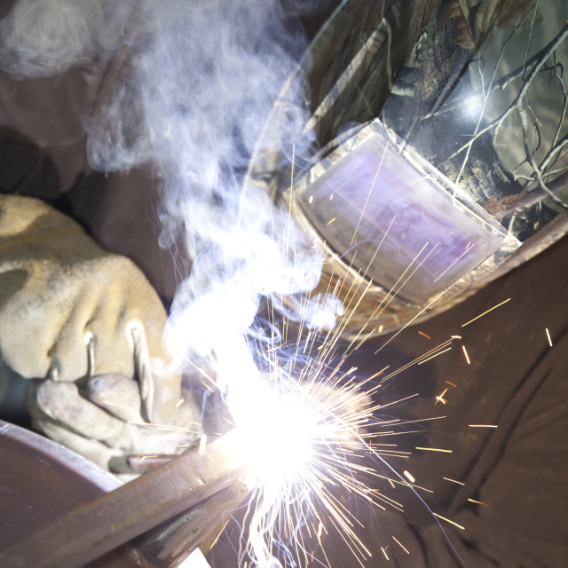 """man welding"" stock image"