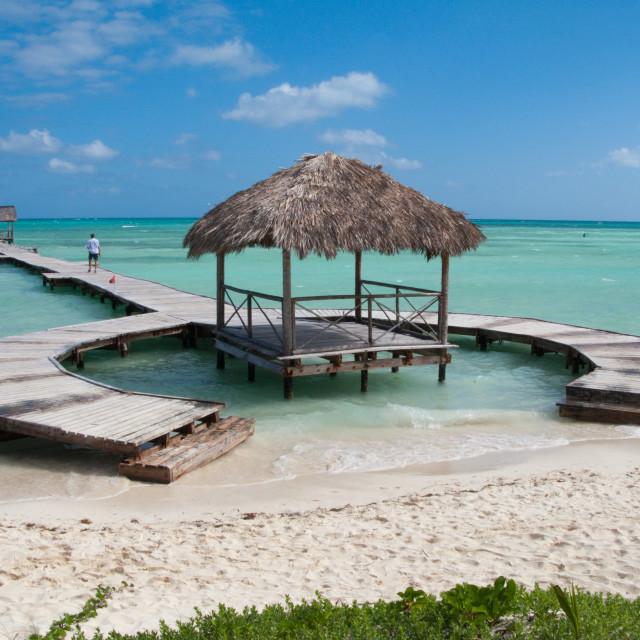 """Cuba beach"" stock image"