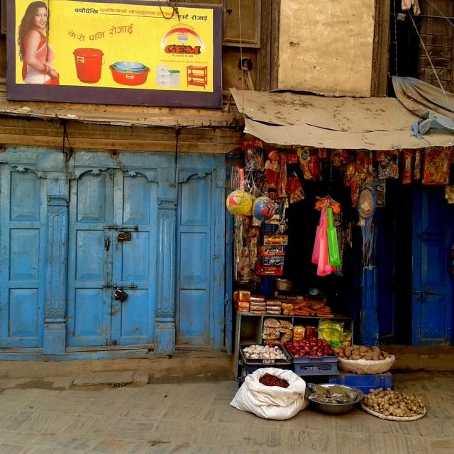 """Shop in Kathmandu"" stock image"