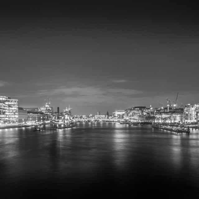 """London By Night..."" stock image"
