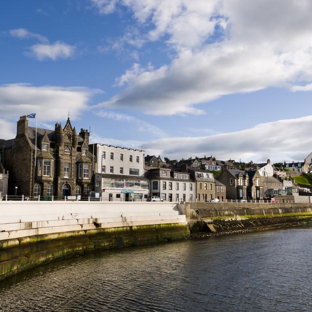 """""""Macduff, Scotland"""" stock image"""
