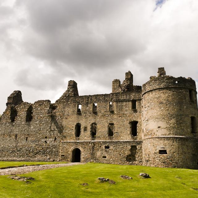 """""""Balvenie Castle"""" stock image"""