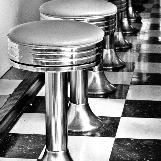 """""""American Diner"""" stock image"""