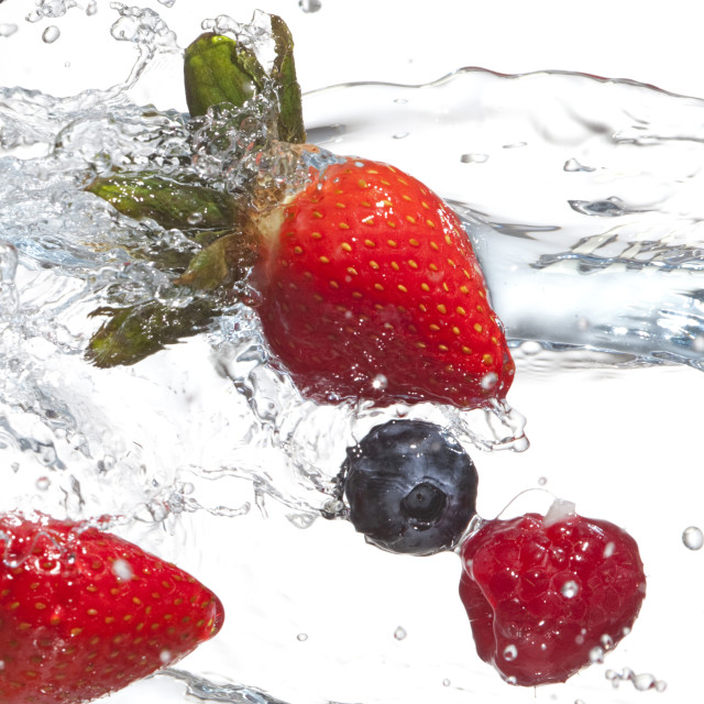 """fruit in water"" stock image"