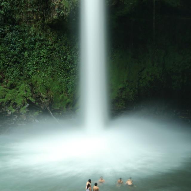 """La Fortuna waterfall, Costa Rica"" stock image"