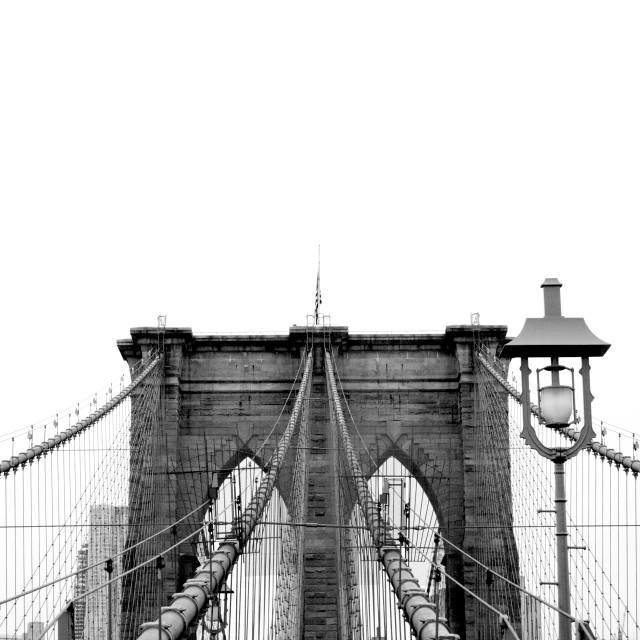 """Brooklyn Bridge 2"" stock image"