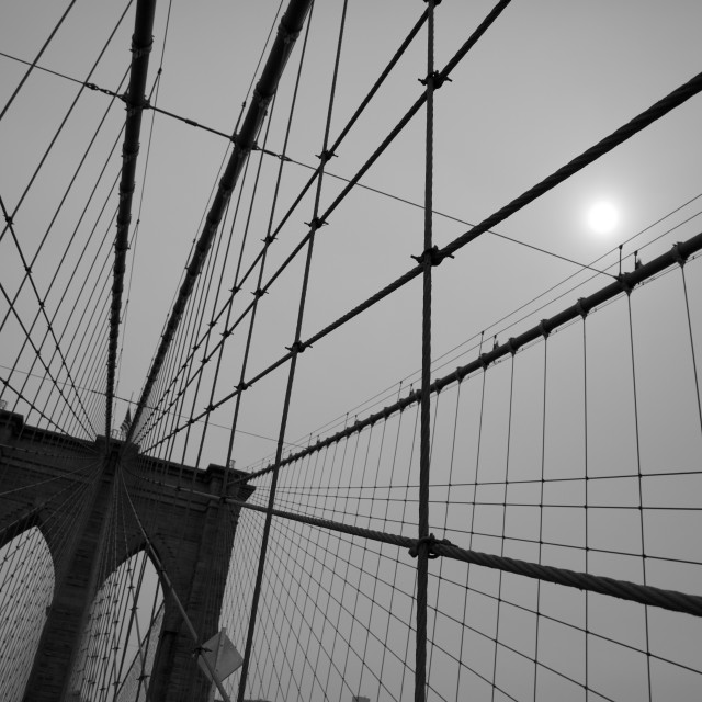"""Brooklyn Bridge 3"" stock image"