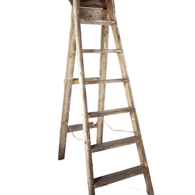 """painters ladder"" stock image"