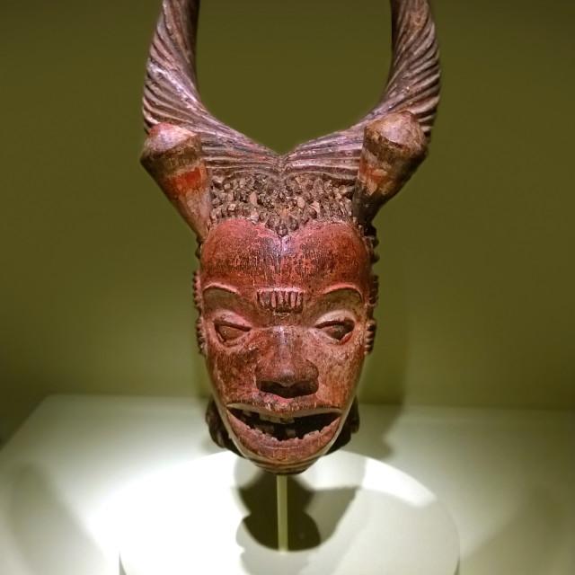 """Boki Mask"" stock image"