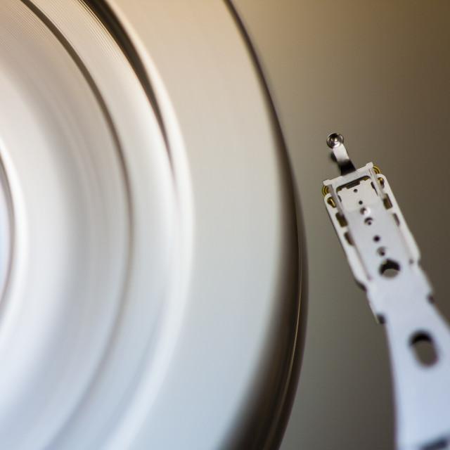 """Hard disk drive"" stock image"