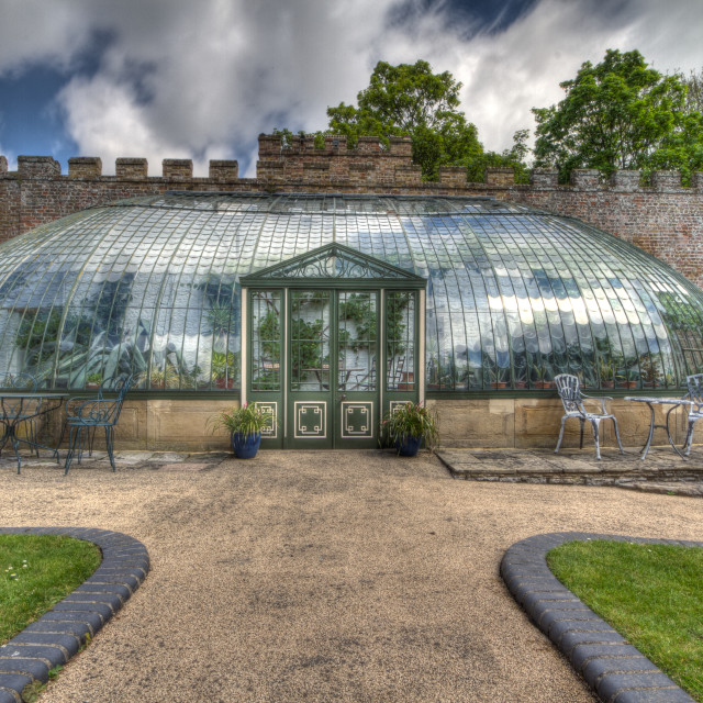 """Italiante Greenhouse"" stock image"