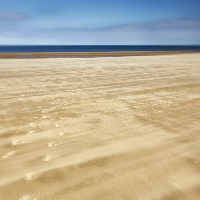 """Shifting sands"" stock image"