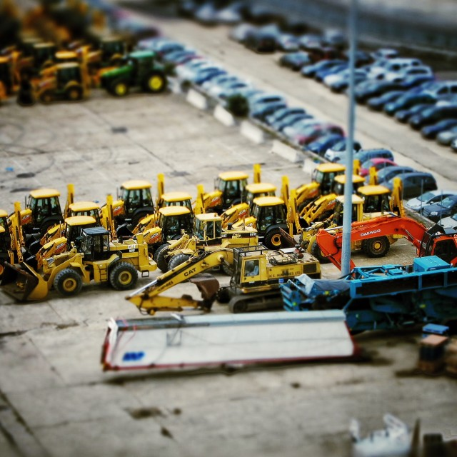 """Little Diggers"" stock image"