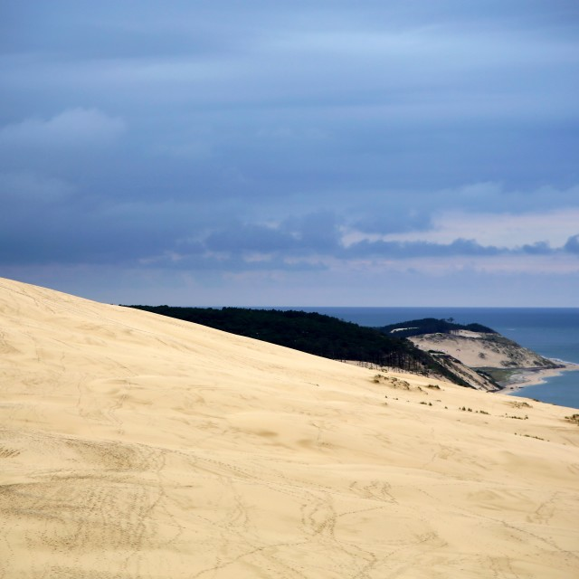 """Dune du Pilat"" stock image"