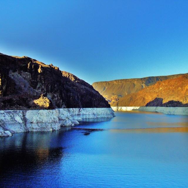 """Hoover Dam"" stock image"