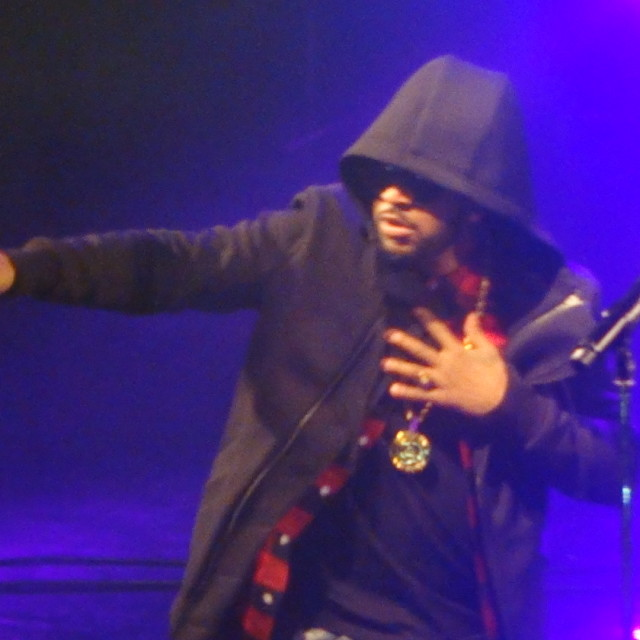 """""""Musicalize: Omarion Concert Koko Club, Camden, London Mon. 16th March 2015"""" stock image"""