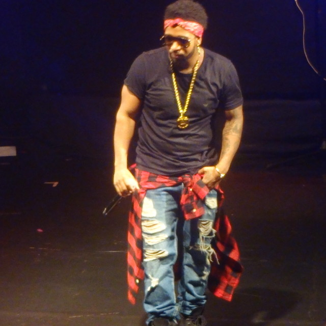 """""""Musicalize: Omarion live at Koko, Camden London, Monday 16th March 2015."""" stock image"""