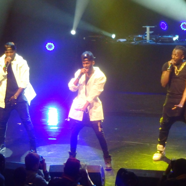 """""""Rough Copy at Musicalize: Omarion Mon.16th March 2015, Koko Club, Camden, London"""" stock image"""