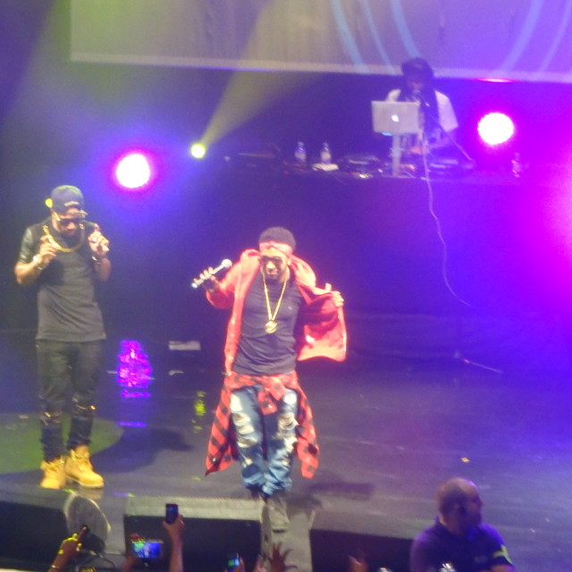 """""""Musicalize: Omarion Concert, Koko Club, Camden London, Mon. 16th March 2015"""" stock image"""