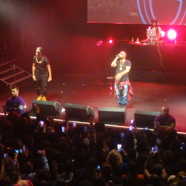 """""""Musicalize: Omarion concert live at Koko, Camden London, Monday 16th March 2015."""" stock image"""
