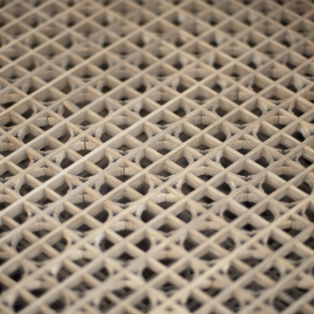 """Wooden lattice"" stock image"