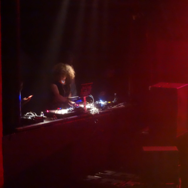 """""""DJ Melody Kane Musicalize: Omarion live Mon.16th March 2015"""" stock image"""