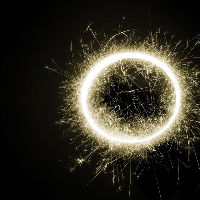 """sparkle circle"" stock image"