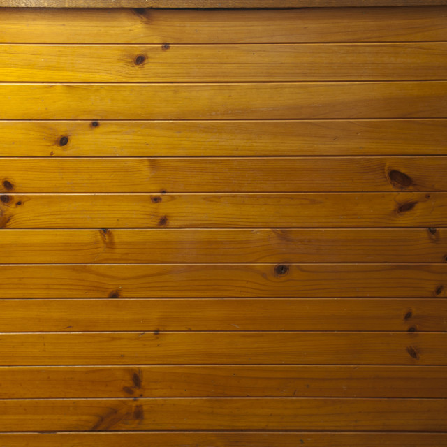 """Tongue and groove wooden cladding"" stock image"
