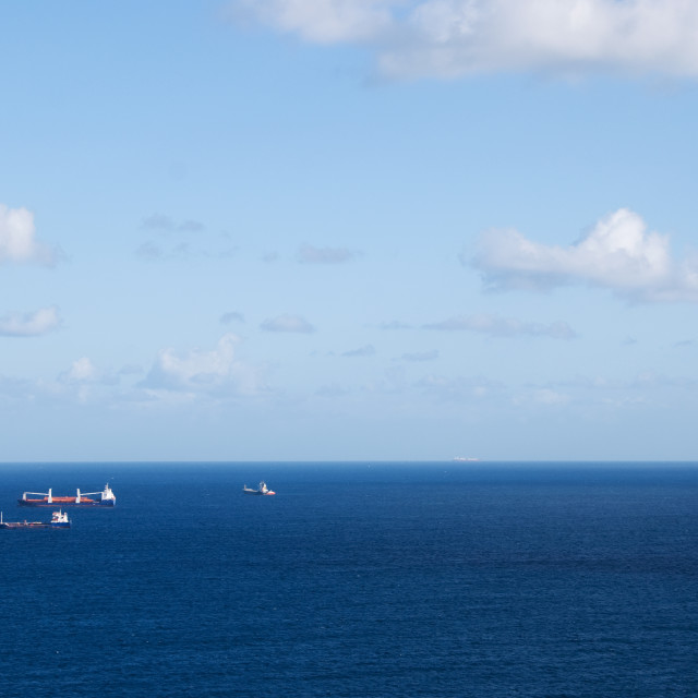 """""""Busy Shipping Route"""" stock image"""